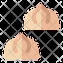 Dumpling Dimsum Dish Icon