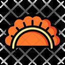 Dumpling Traditional Cuisine Icon