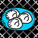 Food Dumplings Ravioli Icon