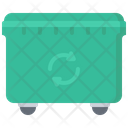 Dumpster Garbage Clean Icon