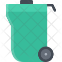 Dumpster Recycle Trash Icon