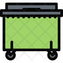 Dumpster Plumber Cleaning Icon