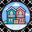 Duplex Multifamily Apartment Quadruplex Icon