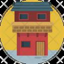 Houses Building Duplex Icon