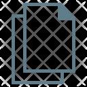 Duplicate Copy Files Icon