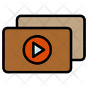 Duplicate Copy Play Button Icon