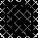 Duplicate Copy Paper Icon