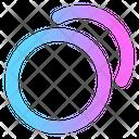 Duplicate Copy Mobile Icon