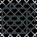 Duplicate Content Copywriting Icon