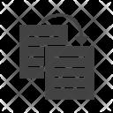 Duplicate Content Website Icon