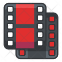 Duplicate Video Movie Icon