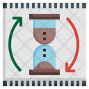 Duration Time Date Hourglass Movie Icon