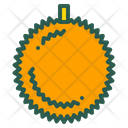 Durian Fruit Food Icon
