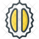 Durian Fruite Tropical Icon