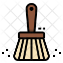 Dust Brush Cleaning Icon