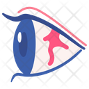 Eye Allergy Air Icon