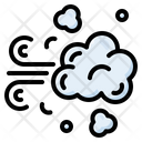 Dust Smoke Pollution Icon