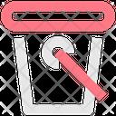 Dust Bin Bin Bucket Icon