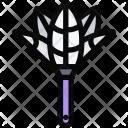 Dust Brush Plumber Icon