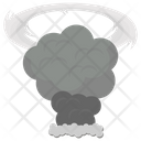 Dust Explosion Dust Cloud Mine Disaster Icon