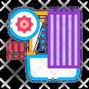 Dust On Bathroom Icon