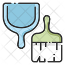 Dust Pan Brush Equipment Icon
