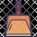 Dust Pan Dust Scooper Pan Icon