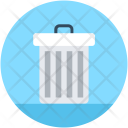 Dustbin Garbage Can Icon