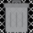 Dustbin Bucket Recycle Bin Icon