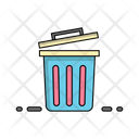 Trush Pan Recycle Office Icon