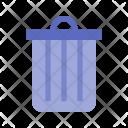Waste Dustbin Recycle Bin Icon