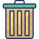 Dustbin Garbage Can Trash Bin Icon