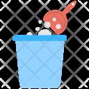 Dustbin Dustpan Sweeping Icon