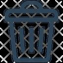 E Commerce Dustbin Delete Icon