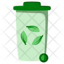Ecology Dustbin Garbage Icon