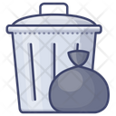 Can Household Garbage Icon