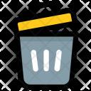 Dustbin Trash Can Icon