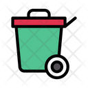 Dustbin Trash Basket Icon
