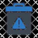 Dustbin Trashcan Basket Icon