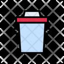 Basket Dustbin Recyclebin Icon
