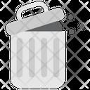 Quarantine Stayhome Rubbish Garbage Icon