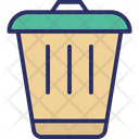 Dustbin Garbage Can Recycle Bin Icon