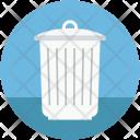Dustbin Garbage Bin Icon