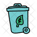 Compost Dustbin Garbage Icon