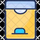 Dustbin Basket Trash Can Icon