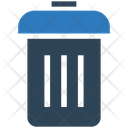 Business Financial Dustbin Icon