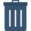 Dustbin Garbage Litter Bin Icon