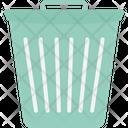 Dustbin Garbage Litter Bin Icon