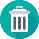 Garbage Dustbin Can Icon