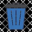 Dustbin Basket Trash Icon
